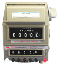 Veeder Root Counter printer and preset